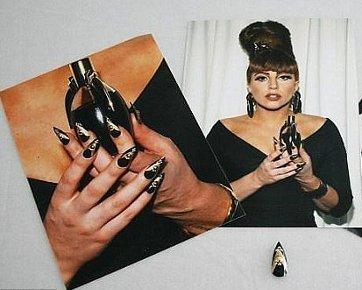 Lelang Kuku Palsu Lady Gaga